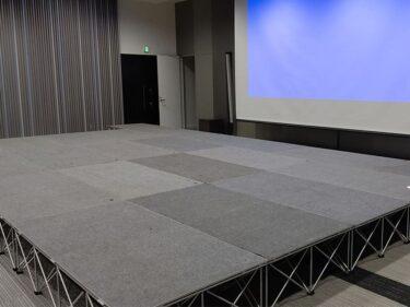 初めての方でも簡単に組み立てられる!福岡で簡単ステージレンタル!
