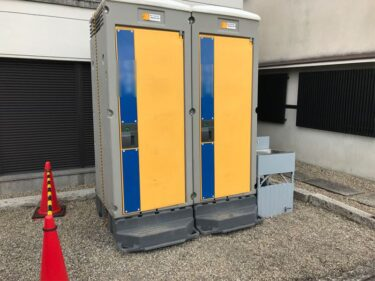 イベントや工事現場には必要な仮設トイレ!