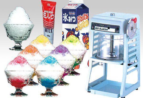 夏を満喫 かき氷作り!!