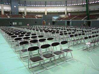 学校・社内イベントで必須!パイプ椅子を福岡でレンタル!