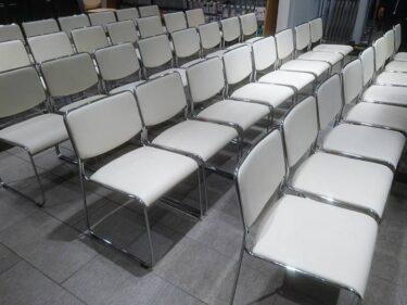 商談や会議でもオシャレに統一感を!スタッキングチェアを福岡でレンタル!