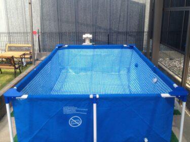 夏が来た!お家での水遊びに!ファミリープール福岡でレンタルできます!