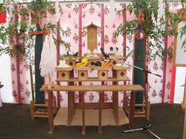 地鎮祭など式典で活躍!祭壇を福岡でレンタル!
