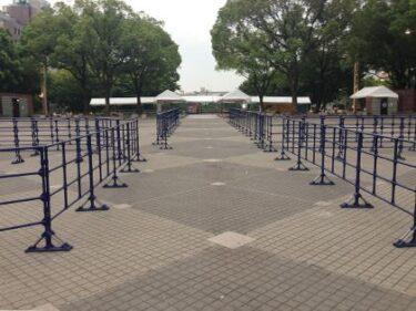 イベントで大活躍!整列やブース設営に便利なフェンスを福岡でレンタル!